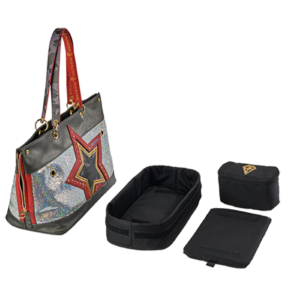 PAILLETTES PET CARRIER (Taglia Grande)