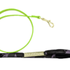 LEASH FLUO GREEN/CAMOUFLAGE